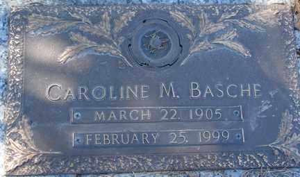 BASCHE, CAROLINE M. - Minnehaha County, South Dakota | CAROLINE M. BASCHE - South Dakota Gravestone Photos