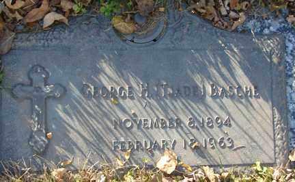 BASCHE, GEORGE H. (TJADE) - Minnehaha County, South Dakota   GEORGE H. (TJADE) BASCHE - South Dakota Gravestone Photos