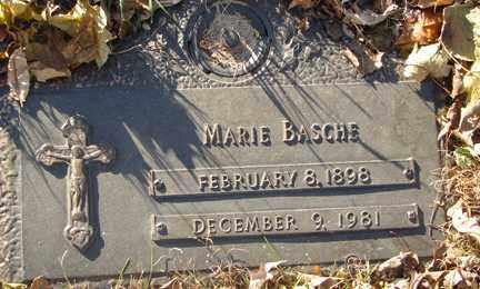 BASCHE, MARIE - Minnehaha County, South Dakota | MARIE BASCHE - South Dakota Gravestone Photos