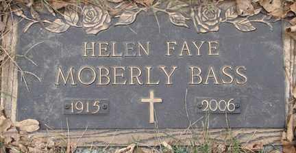 BASS, HELEN FAYE - Minnehaha County, South Dakota | HELEN FAYE BASS - South Dakota Gravestone Photos