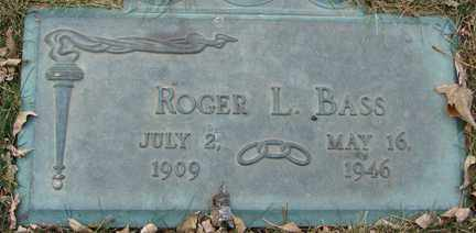 BASS, ROGER L. - Minnehaha County, South Dakota   ROGER L. BASS - South Dakota Gravestone Photos