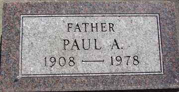BATCHELLER, PAUL  A. - Minnehaha County, South Dakota | PAUL  A. BATCHELLER - South Dakota Gravestone Photos