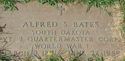 BATES, ALFRED S. (WWI) - Minnehaha County, South Dakota | ALFRED S. (WWI) BATES - South Dakota Gravestone Photos