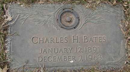 BATES, CHARLES H. - Minnehaha County, South Dakota   CHARLES H. BATES - South Dakota Gravestone Photos