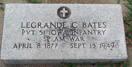 BATES, LEGRANDE C. (SP AM WAR) - Minnehaha County, South Dakota | LEGRANDE C. (SP AM WAR) BATES - South Dakota Gravestone Photos