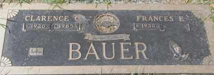 BAUER, CLARENCE C. - Minnehaha County, South Dakota | CLARENCE C. BAUER - South Dakota Gravestone Photos