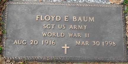BAUM, FLOYD E. - Minnehaha County, South Dakota | FLOYD E. BAUM - South Dakota Gravestone Photos