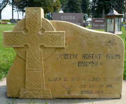 "BAUM, JEREMY ""BAUMER"" ROBERT - Minnehaha County, South Dakota   JEREMY ""BAUMER"" ROBERT BAUM - South Dakota Gravestone Photos"