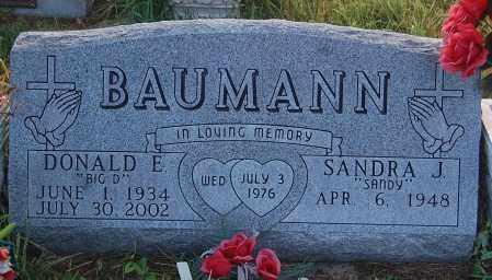 BAUMANN, DONALD E. - Minnehaha County, South Dakota   DONALD E. BAUMANN - South Dakota Gravestone Photos