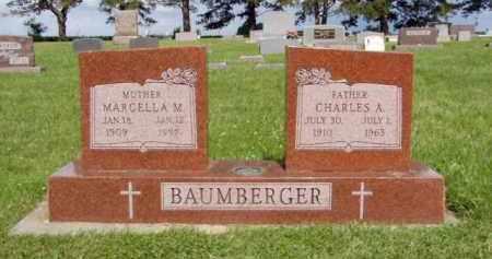 BAUMBERGER, CHARLES ALOYSIUS - Minnehaha County, South Dakota | CHARLES ALOYSIUS BAUMBERGER - South Dakota Gravestone Photos