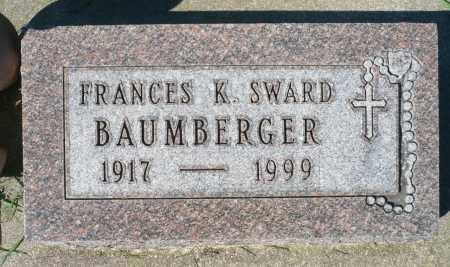MIDDLEN BAUMBERGER, FRANCES K. - Minnehaha County, South Dakota | FRANCES K. MIDDLEN BAUMBERGER - South Dakota Gravestone Photos