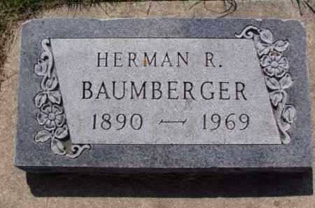 BAUMBERGER, HERMAN ROBERT - Minnehaha County, South Dakota | HERMAN ROBERT BAUMBERGER - South Dakota Gravestone Photos