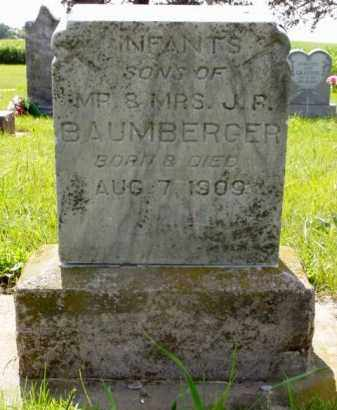 BAUMBERGER, INFANT SON - Minnehaha County, South Dakota | INFANT SON BAUMBERGER - South Dakota Gravestone Photos