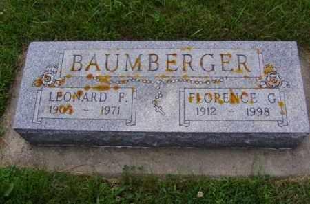 LOGUE BAUMBERGER, FLORENCE GLENETTA - Minnehaha County, South Dakota | FLORENCE GLENETTA LOGUE BAUMBERGER - South Dakota Gravestone Photos