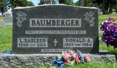 BAUMBERGER, L. DARLEEN - Minnehaha County, South Dakota | L. DARLEEN BAUMBERGER - South Dakota Gravestone Photos