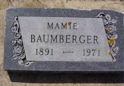 BAUMBERGER, MAMIE - Minnehaha County, South Dakota | MAMIE BAUMBERGER - South Dakota Gravestone Photos