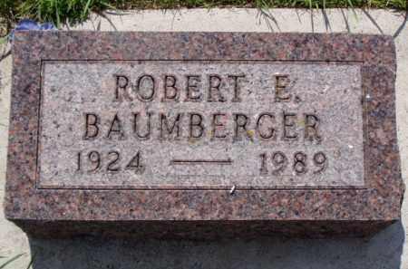 BAUMBERGER, ROBERT EMMETT - Minnehaha County, South Dakota   ROBERT EMMETT BAUMBERGER - South Dakota Gravestone Photos