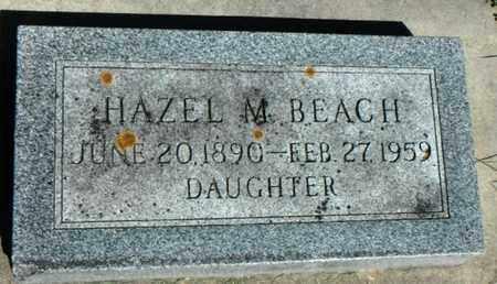 BEACH, HAZEL M. - Minnehaha County, South Dakota   HAZEL M. BEACH - South Dakota Gravestone Photos
