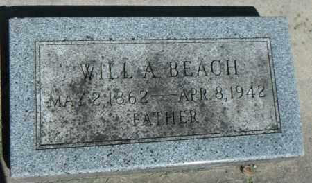 BEACH, WILLIAM A. - Minnehaha County, South Dakota   WILLIAM A. BEACH - South Dakota Gravestone Photos