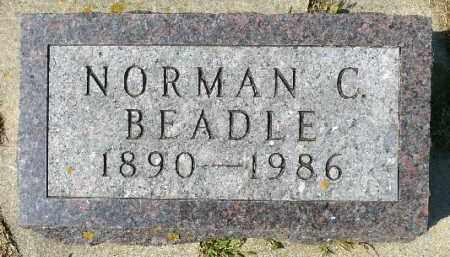 BEADLE, NORMAN C. - Minnehaha County, South Dakota | NORMAN C. BEADLE - South Dakota Gravestone Photos