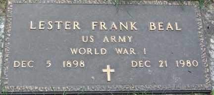BEAL, LESTER FRANK - Minnehaha County, South Dakota | LESTER FRANK BEAL - South Dakota Gravestone Photos