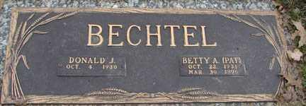 BECHTEL, BETTY A. - Minnehaha County, South Dakota | BETTY A. BECHTEL - South Dakota Gravestone Photos