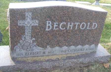 BECHTOLD, CATHERINE A. - Minnehaha County, South Dakota | CATHERINE A. BECHTOLD - South Dakota Gravestone Photos