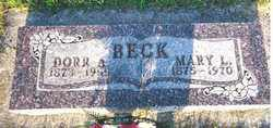 BECK, MARY M. - Minnehaha County, South Dakota | MARY M. BECK - South Dakota Gravestone Photos