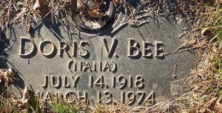 BEE, DORIS V. - Minnehaha County, South Dakota   DORIS V. BEE - South Dakota Gravestone Photos