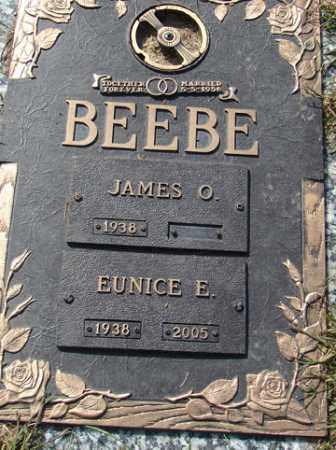 BEEBE, EUNICE E. - Minnehaha County, South Dakota   EUNICE E. BEEBE - South Dakota Gravestone Photos
