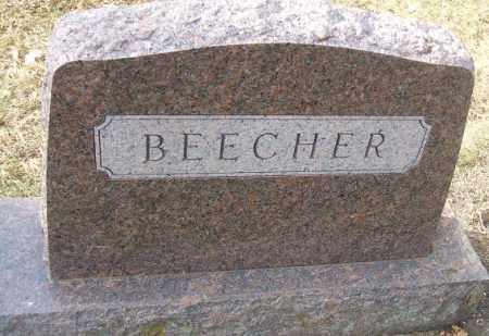 BEECHER, FAMILY STONE - Minnehaha County, South Dakota | FAMILY STONE BEECHER - South Dakota Gravestone Photos