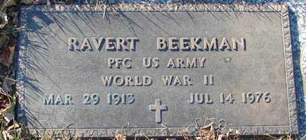 BEEKMAN, RAVERT - Minnehaha County, South Dakota | RAVERT BEEKMAN - South Dakota Gravestone Photos