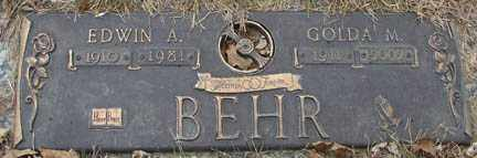 ERWIN BEHR, GOLDA M. - Minnehaha County, South Dakota | GOLDA M. ERWIN BEHR - South Dakota Gravestone Photos