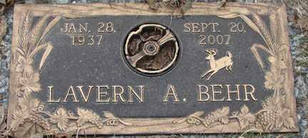 BEHR, LAVERN A. - Minnehaha County, South Dakota | LAVERN A. BEHR - South Dakota Gravestone Photos