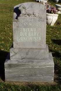 BELAU, INFANT - Minnehaha County, South Dakota | INFANT BELAU - South Dakota Gravestone Photos
