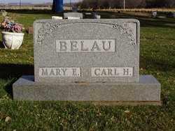 BELAU, MARY E. - Minnehaha County, South Dakota   MARY E. BELAU - South Dakota Gravestone Photos