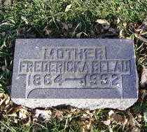 BELAU, FREDERICKA - Minnehaha County, South Dakota | FREDERICKA BELAU - South Dakota Gravestone Photos