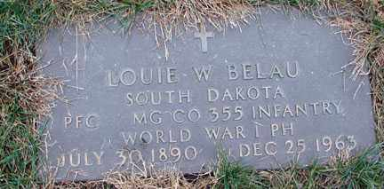 BELAU, LOUIE W. (WWI) - Minnehaha County, South Dakota | LOUIE W. (WWI) BELAU - South Dakota Gravestone Photos