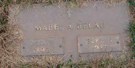 BELAU, MABEL A. - Minnehaha County, South Dakota | MABEL A. BELAU - South Dakota Gravestone Photos