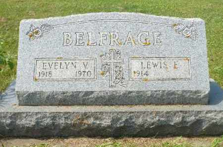 BELFRAGE, EVELYN V. - Minnehaha County, South Dakota | EVELYN V. BELFRAGE - South Dakota Gravestone Photos