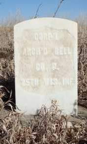 BELL, ARCHIBALD - Minnehaha County, South Dakota | ARCHIBALD BELL - South Dakota Gravestone Photos