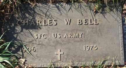 BELL, CHARLES W. - Minnehaha County, South Dakota | CHARLES W. BELL - South Dakota Gravestone Photos