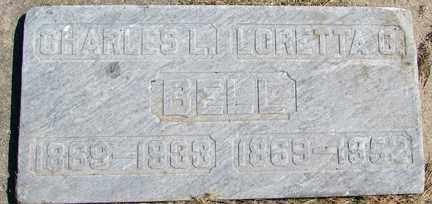 BELL, CHARLES L. - Minnehaha County, South Dakota | CHARLES L. BELL - South Dakota Gravestone Photos