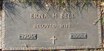 BELL, ERNA H. - Minnehaha County, South Dakota | ERNA H. BELL - South Dakota Gravestone Photos