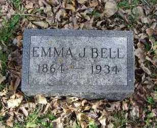 BELL, EMMA J. - Minnehaha County, South Dakota | EMMA J. BELL - South Dakota Gravestone Photos