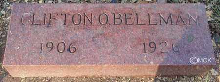 BELLMAN, CLIFTON O. - Minnehaha County, South Dakota   CLIFTON O. BELLMAN - South Dakota Gravestone Photos