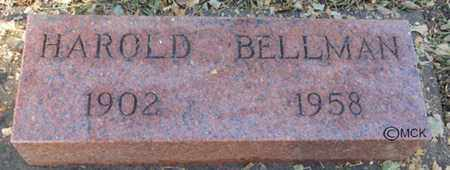 BELLMAN, HAROLD - Minnehaha County, South Dakota | HAROLD BELLMAN - South Dakota Gravestone Photos