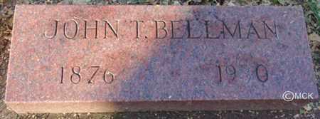 BELLMAN, JOHN T. - Minnehaha County, South Dakota | JOHN T. BELLMAN - South Dakota Gravestone Photos