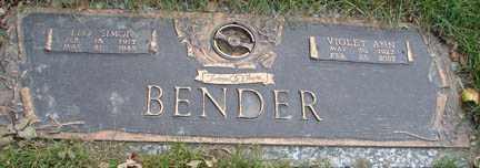 BENDER, LEO SIMON - Minnehaha County, South Dakota | LEO SIMON BENDER - South Dakota Gravestone Photos