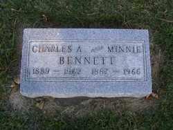 BENNETT, MINNIE - Minnehaha County, South Dakota   MINNIE BENNETT - South Dakota Gravestone Photos